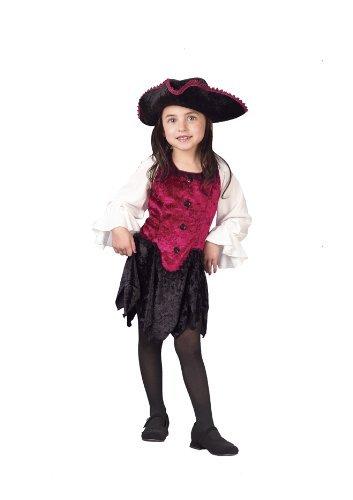 Pirate Lady 3t To 4t (Disney Baby Tinkerbell Kostüm)