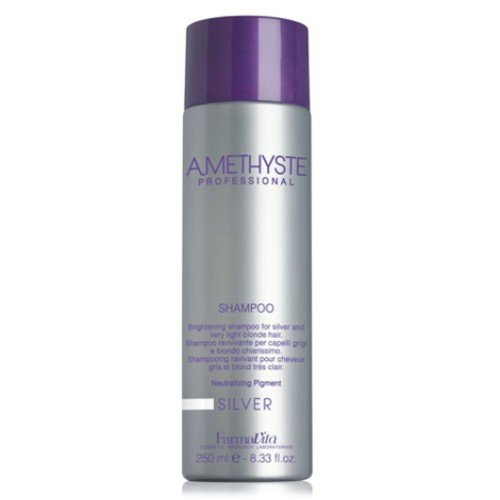 Amethyst Silver 250 ml Shampoo Ravviva Colore Capelli Grigi Bianchi Biondo Chiarissimo