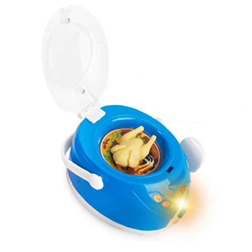IUwnHceE 1pcs Simulation Game House Haushaltskleingeräte Spielzeug (Reiskocher) Für Kinder Baby