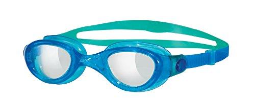 Zoggs Phantom Clear Gafas de natación, Blue/Green, OS