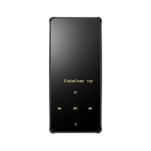 HKANG PA® 8GB Lossless MP3 Player mit FM Radio und Aufnahmefunktion, 1.8 Zoll TFT Display Sport Musik Player, 70 Stunden Wiedergabe