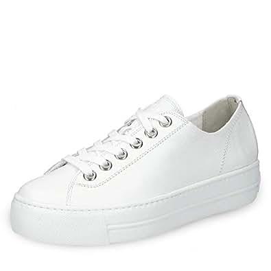 best loved c7775 500d4 Paul Green 4790-014 Damen Sneaker feines Glattleder ...