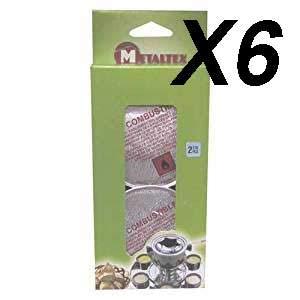 Metaltex STAUB Burner Pasta Quemador Caja 6 Unidades