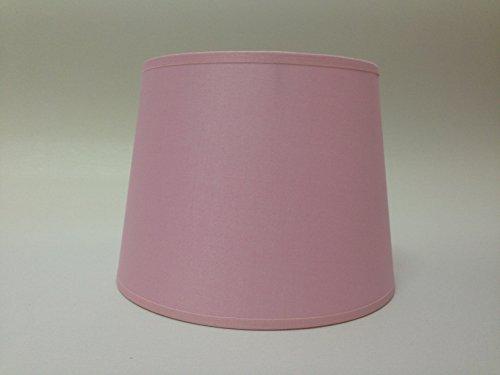 20,3cm Empire Rosa Baumwolle Stoff Lampenschirm Licht Lampe Tisch handgefertigt