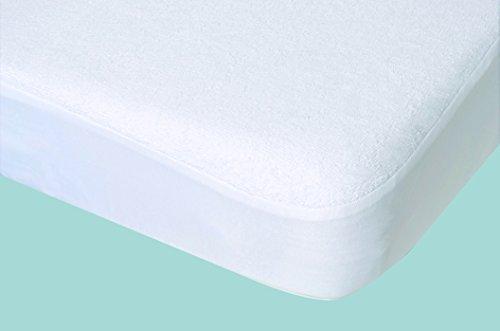 poyetmotte Tencel Protector de colchón, 40x 80cm, color blanco