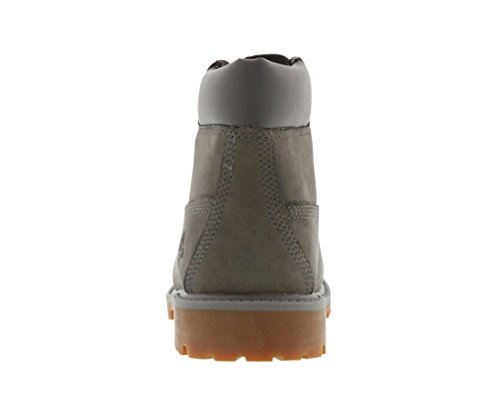 Timberland Jeunes Gris 6 Inch Premium Waterproof Bottes Gris
