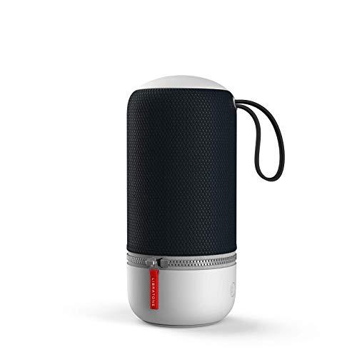 Libratone LH0021000EU2011 ZIPP MINI 2 Smart Wireless Lautsprecher (Alexa Integration, AirPlay 2, MultiRoom, 360° Sound, Wlan, blautooth, Spotify Connect, 12 Std. Akku) stürmisch schwarz