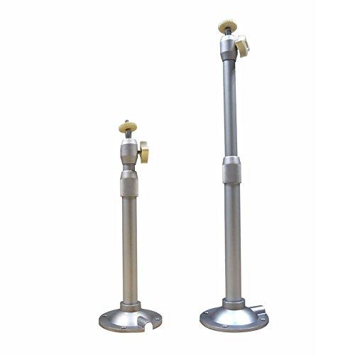 Supporto universale da parete per proiettore a soffitto, staffa da 30–45cm, proiettore da soffitto, portatile, ruotabile a 360°, supporto per fotocamera, supporta fino a 5 kg di carico