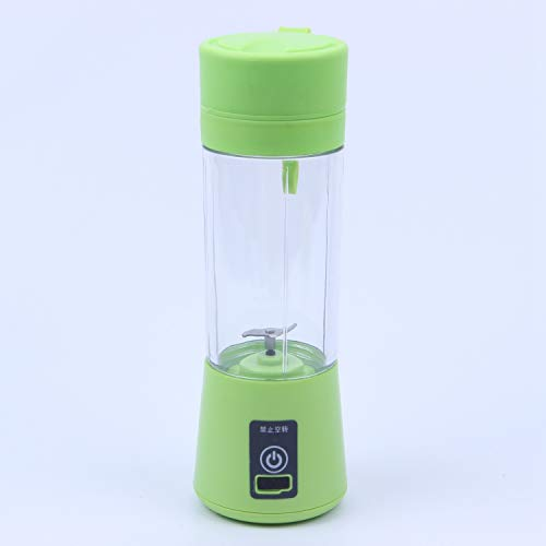TOOGOO 380ml Taza Botella licuadora Recargable USB Mezclador de citricos de Jugo Botella escariador...