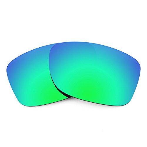 Revant Ersatzlinsen für Oakley Jupiter Factory Lite Polarisierung Elite Rogue Grün MirrorShield®