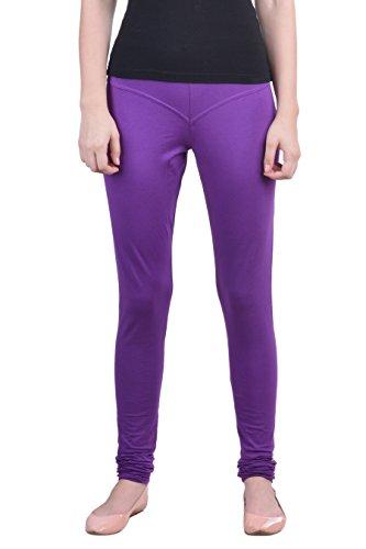 Dollar Missy Purple Color Churidar Legging