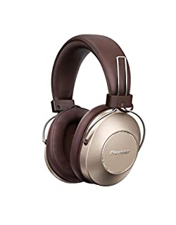 Pioneer S9 Wireless Over-Ear Headphones (Bluetooth Headphones with Google Assistent, NFC, Noise-Cancelling-Technology and 24 hours playing time) Gold (B07JFGKNQC)   Amazon price tracker / tracking, Amazon price history charts, Amazon price watches, Amazon price drop alerts