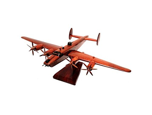 avro-shackleton-maritime-patrol-aircraft-allied-military-plane-executive-wooden-desktop-model-mahoga
