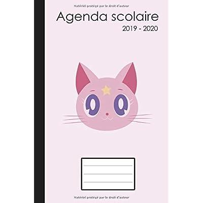 Agenda scolaire 2019 2020: Agenda etudiant 2019 2020, Agenda 2019 2020 scolaire (Agenda scolaire semainier 2019 2020 | Agenda scolaire A5 | Chat, Couverture rose)