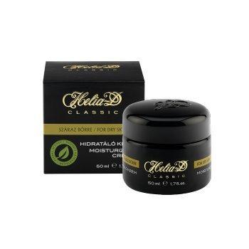 Aktivkräuter Helia-D klassische Feuchtigkeitscreme für TROCKENE Haut , mit ENTZÜNDUNGSHEMMENDER, REGENERIERENDER Wirkung (verringert das trockene Hautgefühl) für die Hautelastizität und 24 H Hydratisierung. 50ml