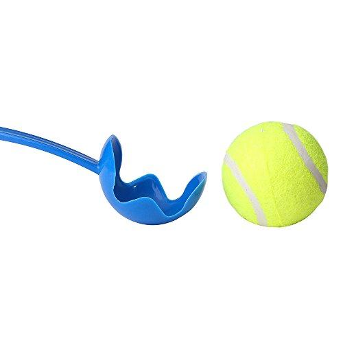 Sport Ballschleuder für Haustiere | Hundespielzeug Ball für Hunde | Wurfball Spielen mit Hunden | Ball Werfen und Aufnehmen | Outdoor Spiel für Tiere - 2