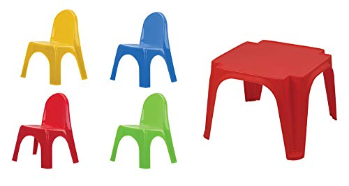 Starplay Tisch Stühle Kinder Möbel Set Stuhl Kinderzimmer Indoor und Outdoor