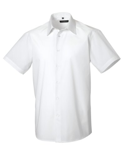 chemise-a-manches-courtes-russell-collection-pour-homme-3xl-blanc