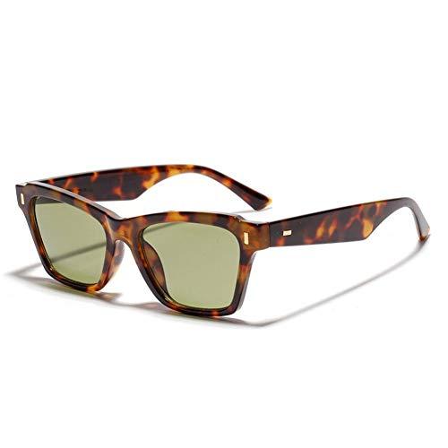 ZRTYJ Sonnenbrille Klassische Sonnenbrille Für Damen New Rectangle Sunglasses for Men Uv400 Fashion Dark Glasses