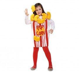 Imagen de disfraz de pop corn o palomitas para niña