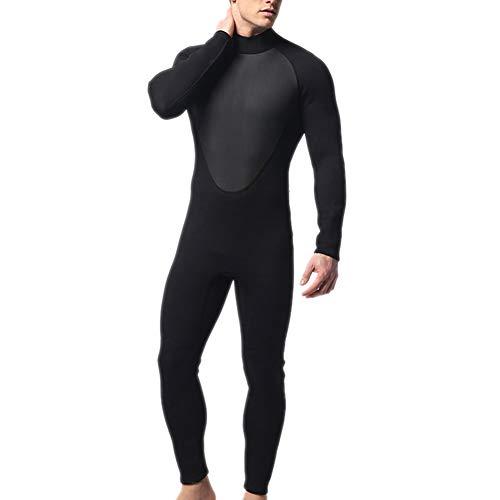 Percetey 1xRound Neck Design Neoprenanzug,Chestfeine Prägung Komfortabel, warm und kältebeständig,wasserdicht,verschleißfest, sehr langlebig.Material:Neopren, Nylon; Dicke: 3mm