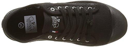 Le Temps des Cerises Basic 02, Baskets Basses Femme Noir (Matelasse Black)