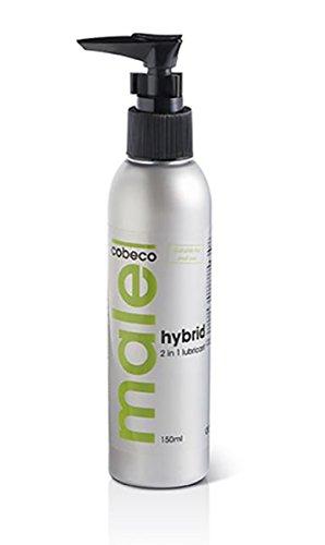 Innovatives Hybrid Gleitgel Massagegel für Männer und Frauen mit langzeit Gleiteingenschaften Sextoy verträglich und für Analverkehr geeignet 150 ml