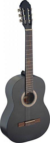 Stagg C440–Guitarra clásica, color negro