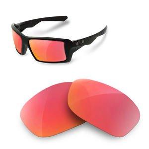sunglasses restorer Kompatibel Ersatzgläser für Oakley Eyepatch 1 & 2 (Polarized Ruby Red Gläser)