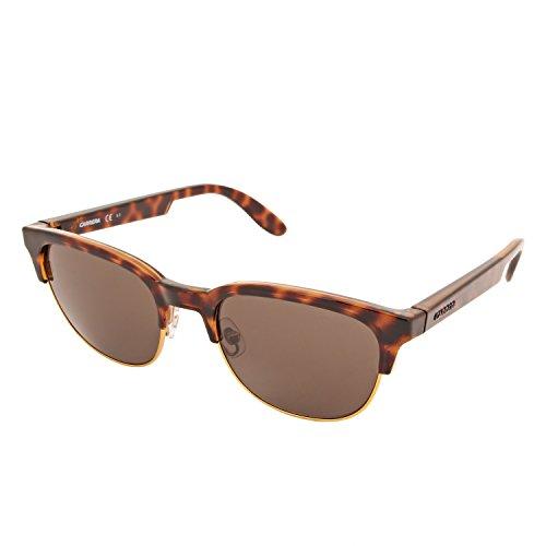 Carrera Mirrored Phantos Unisex Sunglasses - (CARRERA 5034/S TEQ 52X1|52|Brown Color) image