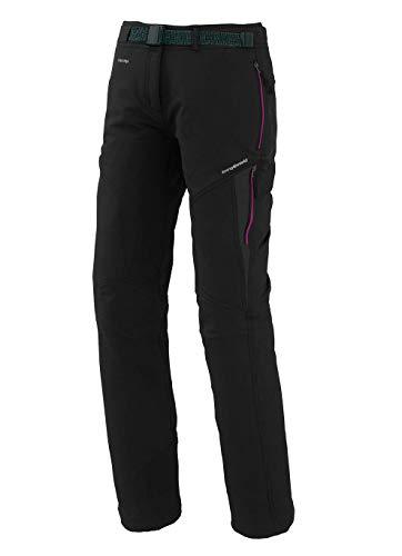 Trangoworld pc007747 – 61t-XL Pantalon Long, Femme, Noir/Gris (Ombre Foncé), XL