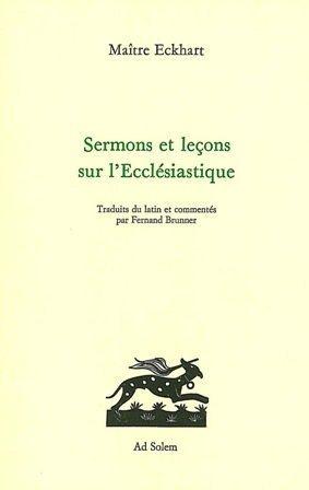 Sermons et lecons sur l'ecclesiatique