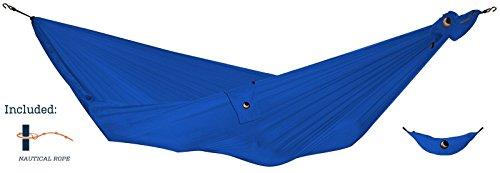 TICKET TO THE MOON Hängematte, Compact size (inkl. Aufhängeseile) - blau