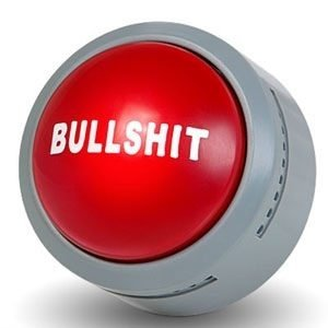 Bullshit Button - der Bullshit Knopf mit Soundeffekten fürs