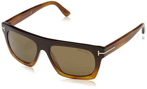 Tom Ford Herren FT0592 55 50E Sonnenbrille, Braun,