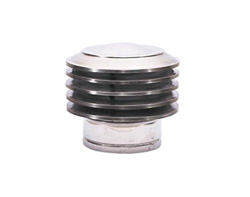 lamelle aspirante 80/100/125/130/150/180/200camino aspirante acciaio inossidabile per comignolo tubo inserto