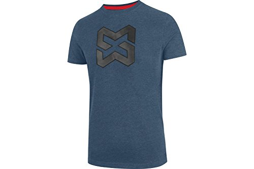 Arbeits T-Shirt X Finity Logo blau - Arbeitsshirts - kurze Shirts - Gr. 3XL