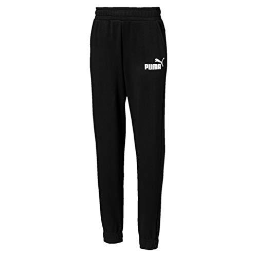 PUMA Jungen ESS Logo Sweat Pants TR cl B Hose, Cotton Black, 176 -