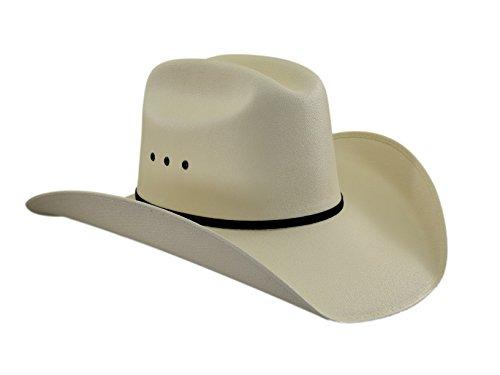 Cowboy Kostüm Lone - Lone Star Hats Western Straw Cowboyhut Rancherhut Turnierhut 59 cm