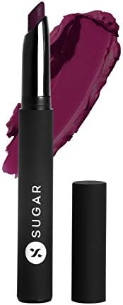 SUGAR Cosmetics Matte Attack Transferproof Lipstick - 03 the Grandberries (Dark Berry), Maroon, 2 g