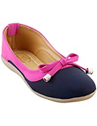 My Soul Grey And Black Color Synthetic Casual Flats Bellies For Women