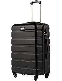 COOLIFE Suitcase Trolley Carry On Hand Cabin Luggage Hard Shell Travel Bag Lightweight 2 Year Warranty Durable 4 Spinner Wheels