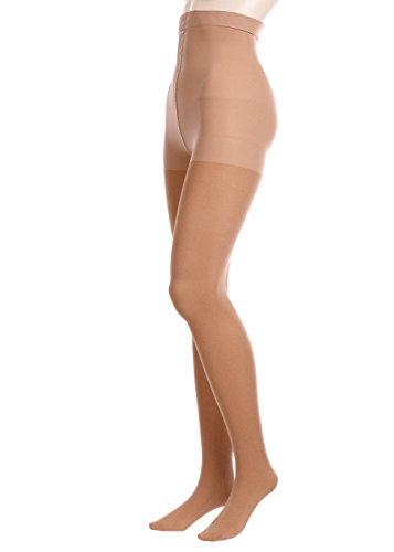 GLAMORY Damen Stützstrumpfhose Vital 70 DEN, Braun (Make Up), XXXX-Large (Herstellergröße: 4XL-(60-62))