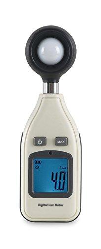 McGrey LM-100 Lichtmesser (beleuchtetes LCD, mit Anzeige von Max- und Min-Werten)