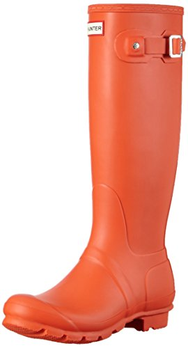 Hunter Women's Original Tall Women's Long Boots red Size: 3
