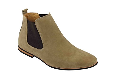 Xposed , Boots montantes Chelsea homme Beige