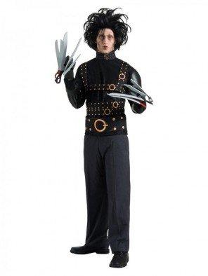Generique - Edward mit den Scherenhänden-Kostüm für Herren Einheitsgröße