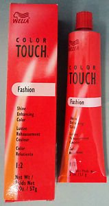 Wella Fashion (Wella - Color Touch Fashion - 6/75 braun-mahagoni)