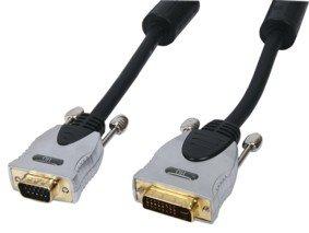 HQ Anschlusskabel (DVI-A auf HD15-polig Stecker) 2,5 m