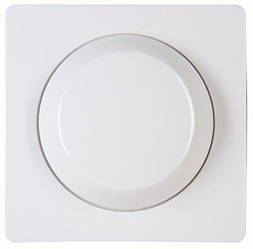 Kopp Abdeckung Druck-Wechsel-Dimmer UP-Serie Paris, arktis-weiß, 333702185